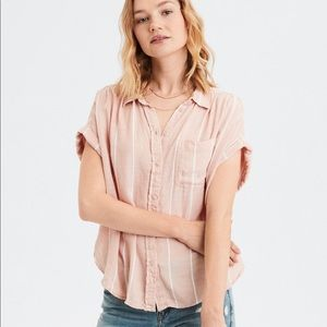 Tops - AEO button down